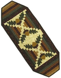 Purchase at Quiltwoman.com - Acorn Table Runner RGR-065
