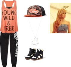 """Chachi Inspired Dance Outfit"" by ambig on Polyvore"
