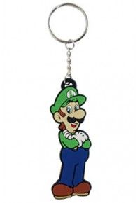 Middle Realm - Official Comic, Gaming, Movie and Anime Merchandise Luigi, Rubber Keychain, Anime Merchandise, Super Mario Bros, Personalized Items, Comics, Games, Toiletry Bag, Porte Clef