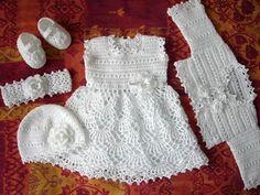 sukienka dla niemowlaka na szydełku - Szukaj w Google