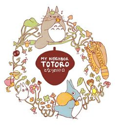 My Neighbor Totoro Art Print by Steph Hodges