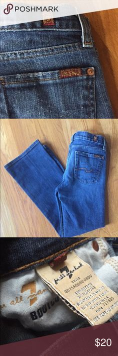 7 for all mankind girls jeans size 12 Girls jeans size 12, bootcut. 7 For All Mankind Bottoms Jeans