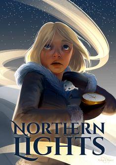 Lyra Belacqua, Philip Pullman, The Golden Compass, His Dark Materials, Northern Lights, Literature, Childhood, Teen, Fan Art