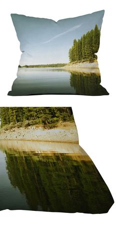 Surround yourself with the quiet serenity of a day on the lake with this landscape-inspired outdoor pillow. Medium weight woven polyester fabric and premium polyester filling make this accent piece jus...  Find the Still Waters Outdoor Pillow, as seen in the Return To The Lake Collection at http://dotandbo.com/collections/return-to-the-lake?utm_source=pinterest&utm_medium=organic&db_sku=118635