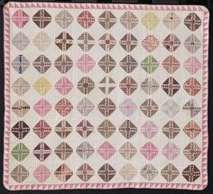 Catherine Fisher's 1862 Quilt (via Bloglovin.com )