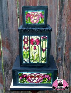 Stained Glass - Cake by Cakes ROCK!!!