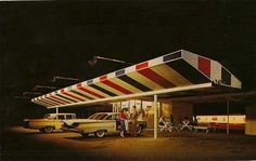 vintage everyday: American Restaurants of the 1950s