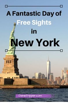 This itinerary gives you an exact route to follow with maps for 8 free sights in New York City!
