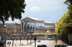 pierre delavie wraps versailles in dior trompe l'oeil canvas