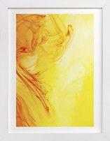 Orange into Yellow Wall Art Prints
