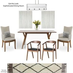 Get The Look: Sophisticated Dining Room | The Suite Life Designs