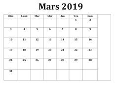 Calendrier Mars 2019 PDF Imprimable Document | Best Reviews 2019 Mars, Buyers Guide, Periodic Table, Pdf, Printable, Periodic Table Chart, March, Periotic Table
