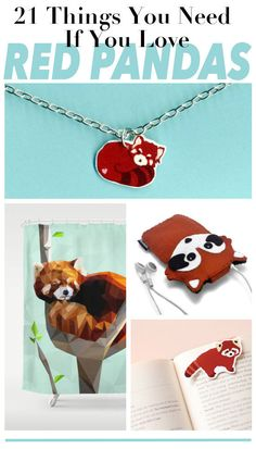 21 Things You Need If You Love Red Pandas