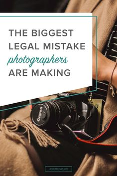 Bringing you a guest post this week! Rachel Rodgers, creator of Small Business Bodyguard, is talking today about the biggest legal mistake photographers make. You aren't just a photographer, you're a small business owner. You're the boss; the big cheese, the head honcho. And that is exciting, and affirming…and scary as hell. Because being a business …