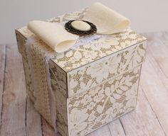 """Robe di Robi: Explosion box """"Nozze d'oro"""""""