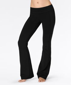 Look at this lucy Black Perfect Booty Pants on #zulily today!