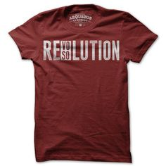 Resovolution Tee Women's Red, $20, now featured on Fab.