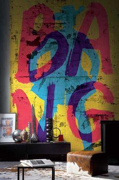 Papiers peints - Envie d'Intérieur - #papierpeint #oxymore #casamance #création #française #intérieur #clermontferrand