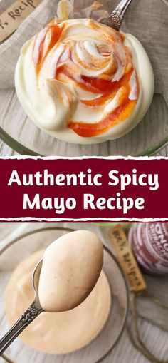 Spicy Mayo - Versatile and Amazing! It entered our life as an excellent complement to many dishes and won our taste buds forever. Spicy Mayo Sauce Recipe, Chipotle Mayo Recipe, Sushi Recipes, Spicy Recipes, Cooking Recipes, Seafood Recipes, Homemade Sushi, Homemade Sauce, Gourmet