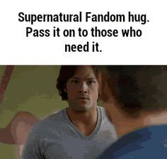 Oh, Winchester hugs. You always do me in!