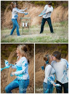 7 Cute Pictures to Reveal Baby\'s Gender: Easy, cute, and simple picture ideas to reveal if you are having a boy or girl!