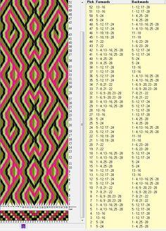 28 tarjetas , 8 colores, repite cada 24 movimientos // sed_163༺❁