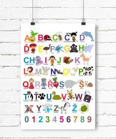 Česká abeceda - plakát - A3