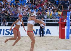 24 Nations have teams that will compete in Beach Volleyball at the London Olympics! (article)