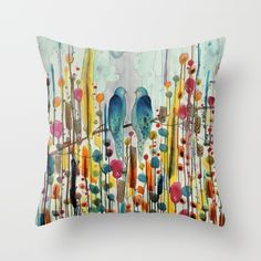 Buy we Throw Pillow by sylvie demers. Worldwide shipping available at Society6.com. Just one of millions of high quality products available.