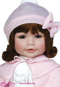 #muñecas #muñecasadora #adoradolls Muñecas Adora Dolls - Muñeca Jolie www.disy.es