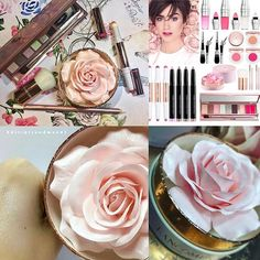 Patiently waiting for these babies  to drop! @lancomeofficial #AbsolutelyRose #Spring2017 #Collection  one word #BEAUTIFUL !!!!!! This baby pink rose got my heart (YES! That's actually the product)  and all these soft pink tones giving the collection  a romantic feeling. includes:  1. La Rose Parisian #Powder #LimitedEdition - a highlighting powder with a mini size kabuki brush 2. Cushion #Blush Subtil –  00 Highlighter – highlighter 02 Rose Lemonade – gentle lilac pink 024 Sparkling Fa...