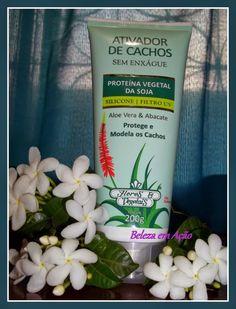BELEZA EM AÇÃO: Ativador de cachos Flores & Vegetais