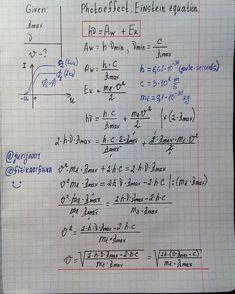 Yuri Kovalenok sur Instagram: Photoeffect. Einstein equation.