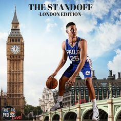 The real #BigBen is about to take London by storm! Tune in or stream @nbcsphilly to watch our @sixers take on the @celtics at 3PM across the pond! #London #England #NBAVote #Ben4AllStar #Sixers #SixersNation #Philly #Philadelphia #76ers #RaiseTheCat #TrustTheProcess! #sixers #phillysports #nba #basketball #eagles #flyers #phillies #TrustTheProcessLive @trusttheprocesslive