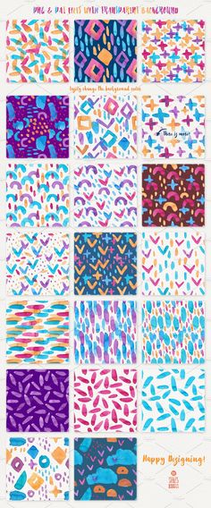 Love Is In The Air, Pattern Pack by Stella's Graphic Supply on @creativemarket