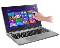 Acer Aspire Touchscreen Laptop (Cold Steel), Acer Touch Screen Notebook comes with these high level specs: AMD Quad-Core Accelerated Processor with TurboCORE Technology up to Windows HD Widescreen Ci. Laptop Deals, Computer Deals, Best Deals On Laptops, Laptops For College Students, Laptop For College, Laptop Acer Aspire, Acer Aspire One, Acer Computers, Desktop Computers