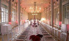 Un classique à Paris pour un mariage indien royal...le Salon des mirroirs
