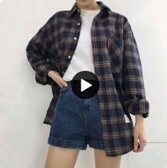 grunge Fashion Grunge Outfits Shoes Id - Grunge Outfits, Outfits Casual, Mode Outfits, Grunge Fashion, Fashion Outfits, Trendy Fashion, Fashion Ideas, Korean Fashion Shorts, Fashion Trends