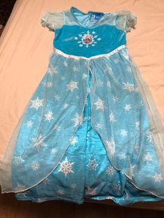 Disney Elsa pajamas. Very gently used. Smoke & pet free home. No stains or rips.
