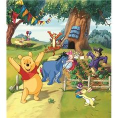 Disney - Fotomurales Infantiles de Disney, Winnie The Pooh