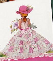 Resultado de imagem para bia moreira pinturas Applique Quilts, Embroidery Applique, Applique Designs, Quilting Designs, Doll Crafts, Sewing Crafts, Diy Fashion Projects, Doll Quilt, Girls Quilts