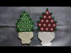 Bracelet Crafts, Bracelets, Perler Bead Disney, Macrame Wall Hanging Diy, Crochet Motif Patterns, Satin Ribbon Flowers, Beaded Boxes, Beaded Christmas Ornaments, Blouse Neck