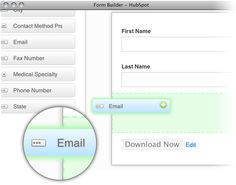 Finally! Marketers can build their own landing page forms easily.