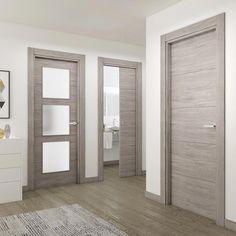 Benefits of Using Interior Wood Doors Grey Interior Doors, Interior Door Styles, Door Design Interior, Wood Entry Doors, Wooden Front Doors, Oak Doors, Internal Doors Modern, Bedroom Door Design, Bedroom Doors