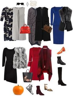 Ensemble: fall dress & gilet how to dress базовый гардероб, 50 Fashion, Fashion Over, Women's Fashion Dresses, Fashion Black, Fashion Spring, Fashion Brands, Winter Fashion, Cheap Boutique Clothing, Women's Fashion Leggings