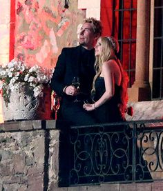Avril Lavigne wore a black dress at her wedding to Chad Kroeger in France!