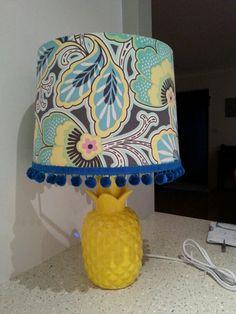 Tropical lampshade!
