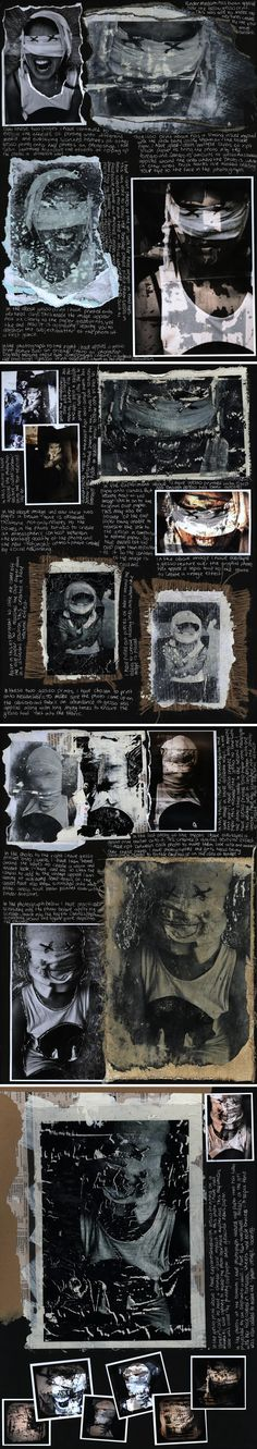Awesome mixed media techniques: 100% A Level Photography by Melissa Kelsey