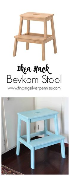 Ikea Hack Bevkam Stool