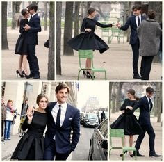 Those Shoes. That Dress. Cute guy in a suit... I want all this in my life right now